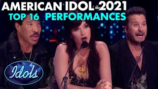 AMERICAN IDOL 2021 ALL TOP 16 PERFORMANCES | Idols Global