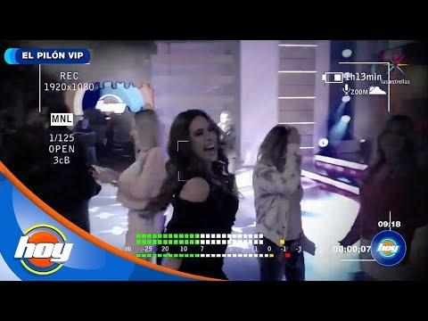 ¡Clases De Baile Con Galilea Montijo! | El Pilón VIP | Hoy