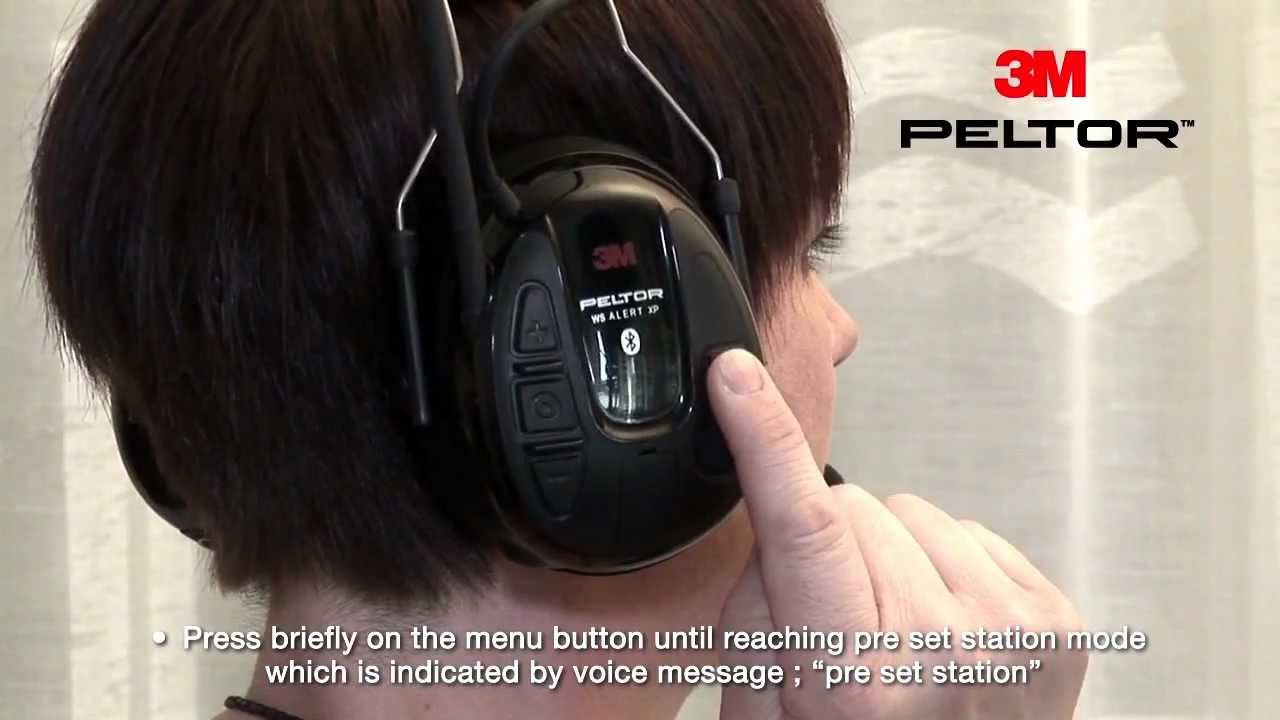 Peltor WS Alert XP User Instructions - YouTube