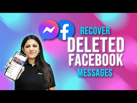 How To Recover Deleted Facebook Messages - Restore Deleted FB Messages