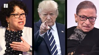 Trump Lashes Out At Supreme Court Justices