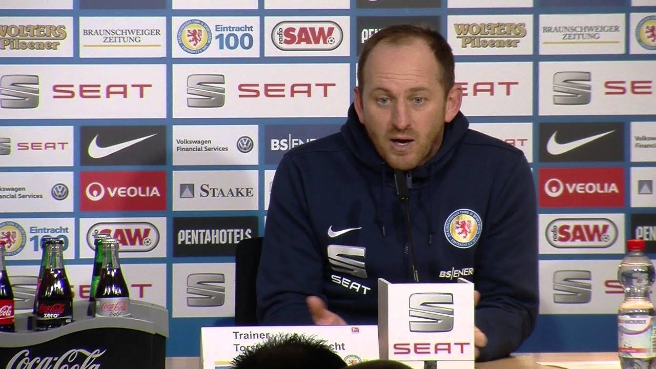 Pressekonferenz Eintracht Braunschweig