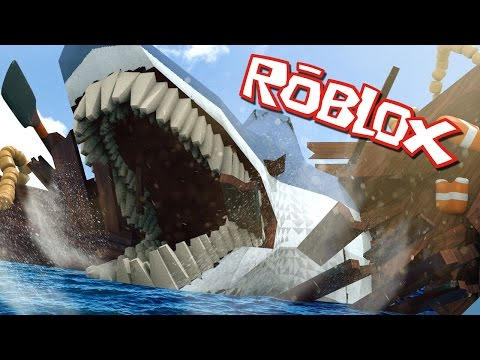 Roblox | WORLDS LARGEST SHARK ATTACKS!...