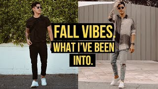 Fall Vibes 🍁What I've Been Loving... So far. (Men's Fashion + Lifestyle) | JairWoo