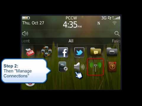 BlackBerry Bold 9790 - Turn off roaming data for BlackBerry
