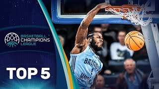 Top 5 Plays | Tuesday - Gameday 1 | Basketball Champions League 2019-20
