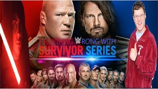 Episode #288: Everything Wrong With WWE Survivor Series 2017 (feat. Brian Zane)