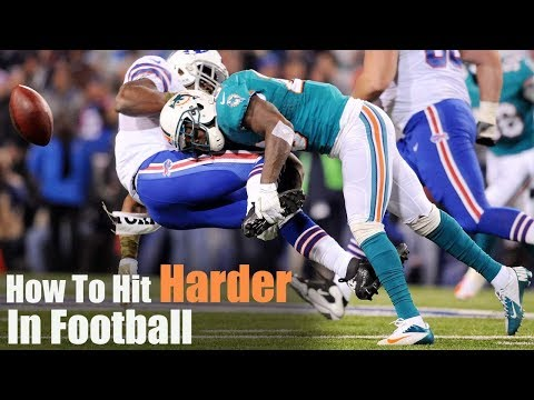How To Hit Harder In Football | Overtime Athletes