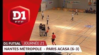 J21 Nantes Metropole Futsal - Paris ACASA (6-3)