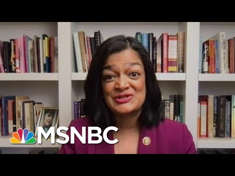 Rep. Jayapal Talks About The 13 Minute Montage Video Of The Capitol Riot   MTP Daily   MSNBC