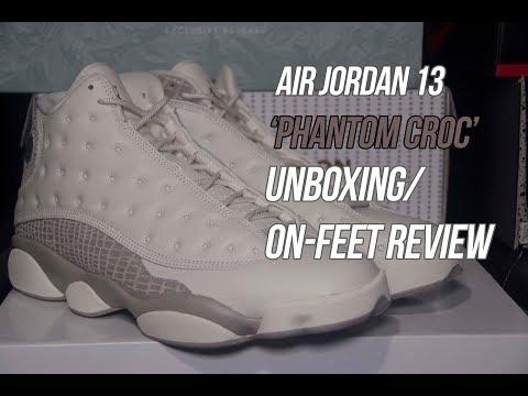 Air Jordan 13 'Phantom Croc' | Solepost Unboxings