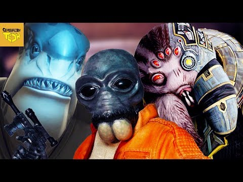 Thumbnail: Star Wars Aliens Based on Real Animals