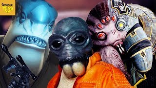 Star Wars Aliens Based on Real Animals