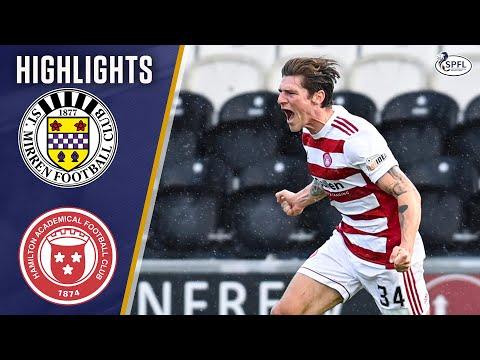 St Mirren Hamilton Goals And Highlights