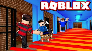 WE ESCAPED FROM THE MOST DANGEROUS PRISON IN ROBLOX 😂🚫