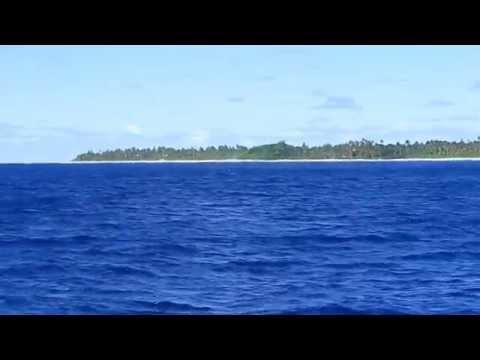 Cook Island Marumaru Atua Vaka Arriving in Rarotonga 22/05/2015 Part2