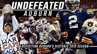 """Undefeated Auburn"" - Revisiting Auburn's historic, championship-winning 2010 season"