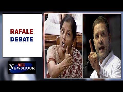 Explosive showdown in Parliament, Nirmala-Rahul war of words    The Newshour Debate (4th Jan)