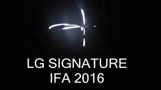 LG SIGNATURE IFA 2016