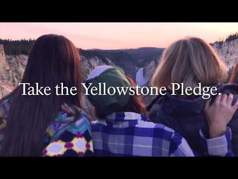 Take the Yellowstone Pledge!