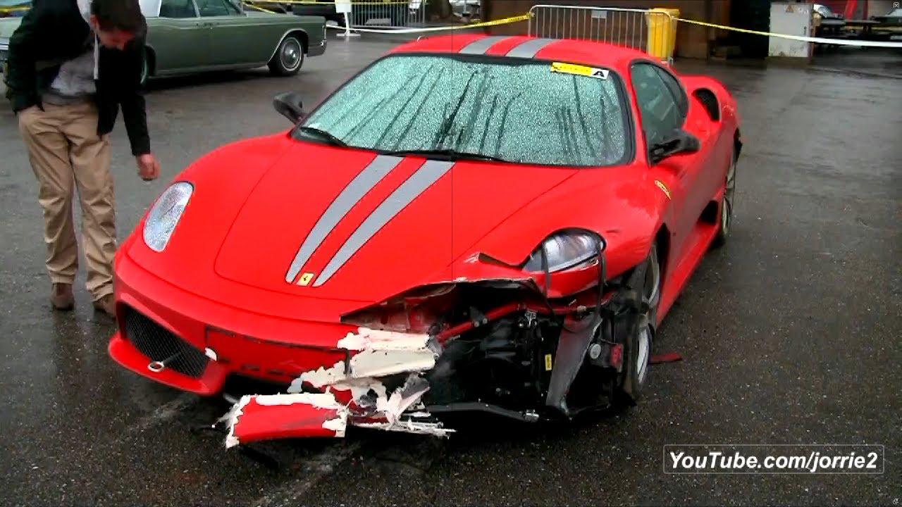 Ferrari 430 Scuderia Sound + Crash!!! - 1080p HD - YouTube