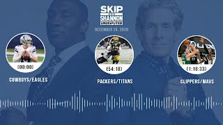 Cowboys/Eagles, Packers/Titans, Clippers/Mavs (12.28.20)   UNDISPUTED Audio Podcast