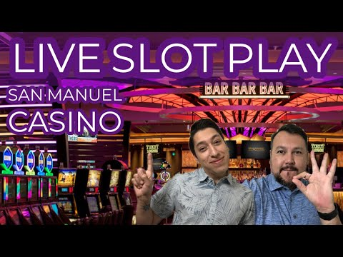 Slot Play 🎰 Palm Springs Spinners from San Manuel Casino