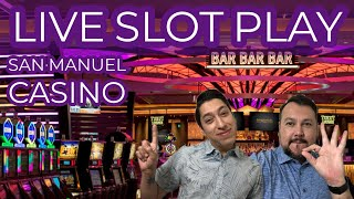 LIVE Slot Play 🎰 Palm Springs Spinners from San Manuel Casino