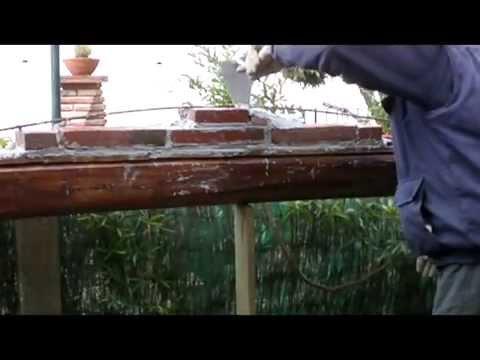 C mo construir un arco de herradura 3 parte n 195 doovi - Clases de ladrillos ...