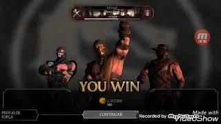Mortal Kombat X Android# Testando times