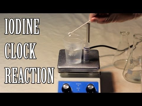 Amazing Iodine Clock - Chemical Reaction
