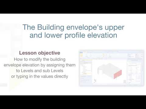 Edificius Tutorial - Building envelope upper and lower profile elevation - ACCA software