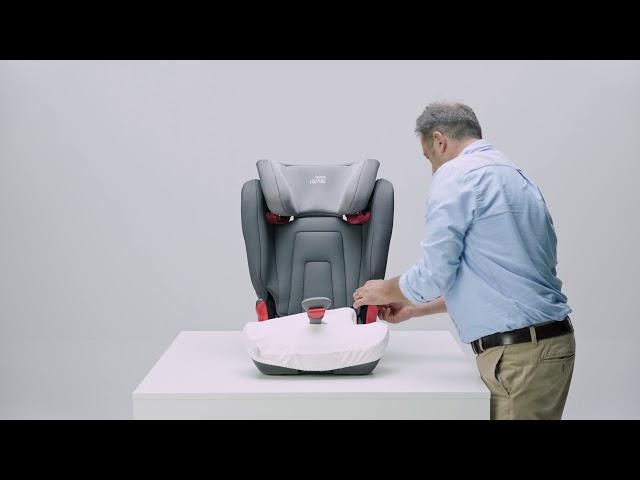 Jak sundat potah autosedačky KIDFIX 2 R| Britax Römer CZ & SK