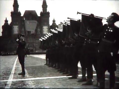 Remastered Soviet Army Victory Parade 1945 Парад Победы