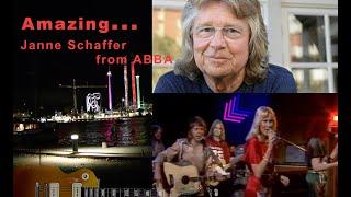 WOW! Listen to ABBA-Guitarplayer Janne Schaffer talking about Groenalund!