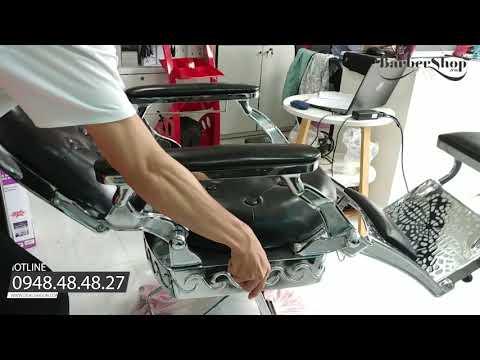 Ghế cắt tóc nam Cao Cấp Barber King BX 15, mẫu ghế hàng đầu Việt Nam