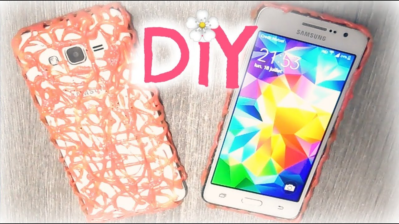 diy coque de t l phone facile youtube. Black Bedroom Furniture Sets. Home Design Ideas