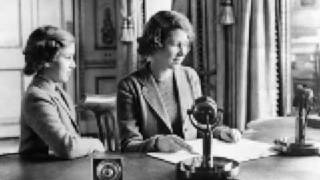 Children's Hour Broadcast Princess Elizabeth (now The Queen) and Princess Margaret speak to children across the world during the Second World War., From YouTubeVideos