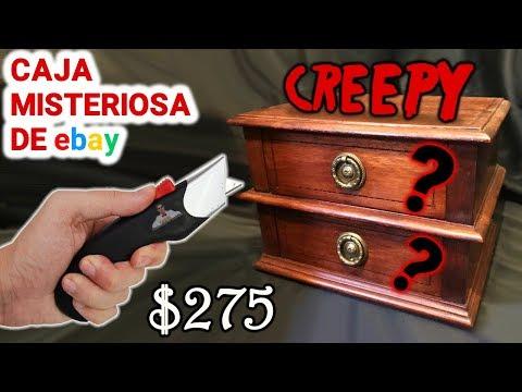 Abro Caja Misteriosa CREEPY de $275 de Ebay 📦❓ | Caja Sorpresa
