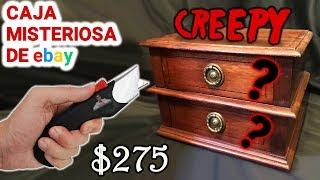 Abro Caja Misteriosa CREEPY de $275 de Ebay 📦❓   Caja Sorpresa