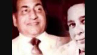 Punjabi Song -Dil tutt Gaye milan by Rafi Sahab & Shamshad Begum.wmv