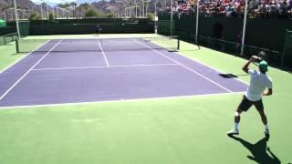 Тренировка в Большом теннисе