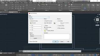 Draw a Center Line and Walls in Autocad
