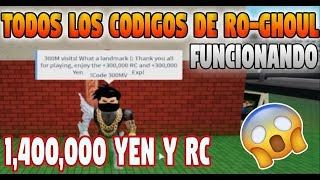 CODES (Ro-Ghoul) 2019 ★★ YEN AND RC FREE (Roblox)