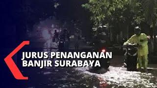 Soroti Banjir Surabaya 3 Jam Surut, Ini Kunci Risma dan Pemkot