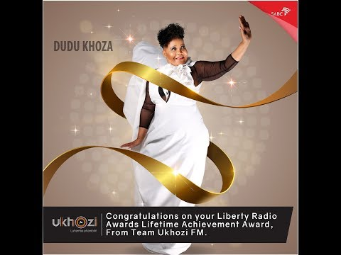 Dudu Khoza Lifetime Achievement award messages from Ukhozi staff