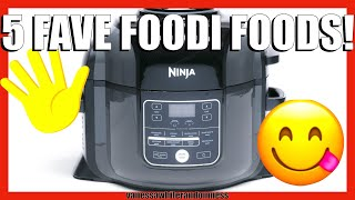 TOP 5 NINJA FOODI RECIPES   EASY DINNERS IN THE NINJA FOODI