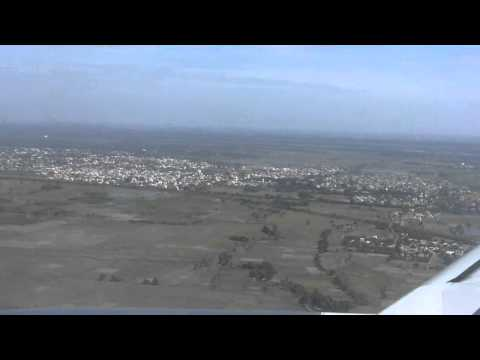 Tiger Airways Landing in Tiruchi Airport