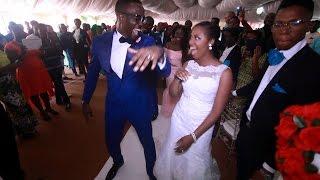 Nigerian Wedding iDealOma white wedding Highlight