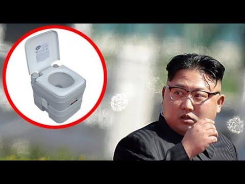 زعيم كوريا الشمالية يصطحب مرحاضة الخاص في القمة الكورية التاريخية فتعرف علي السبب الصادم
